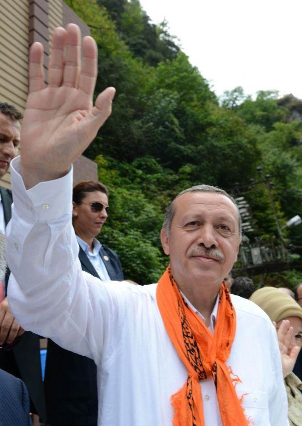 Başbakan Erdoğan Rize´de