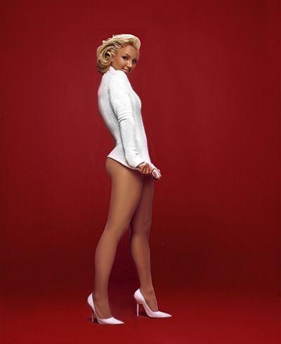 En çok taklit edilen yıldız Marilyn Monroe