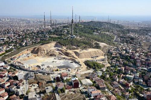 İstanbulda yeşile veda