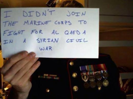 Ben orduya bunun için katılmadım
