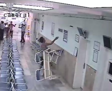 Hastanede terör!