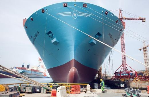 Dünyanın en büyük gemisi Triple -E
