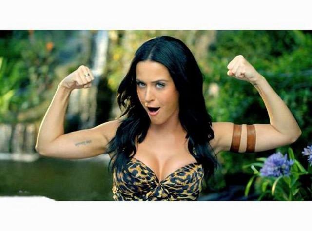 Katy Perry Tarzan oldu!