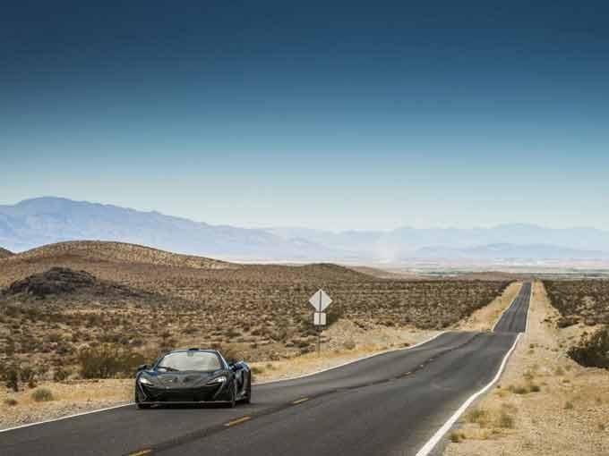 Nevada çölünde hızlı tanıtım