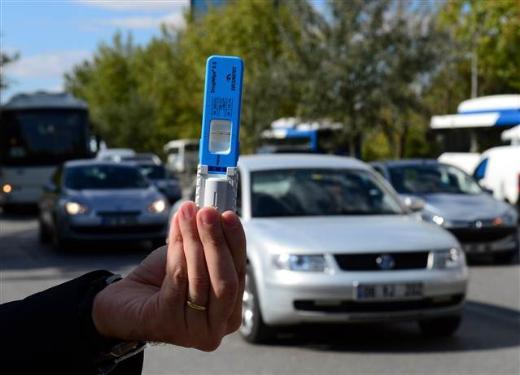 Başkent trafiğinde uyuşturucu testi