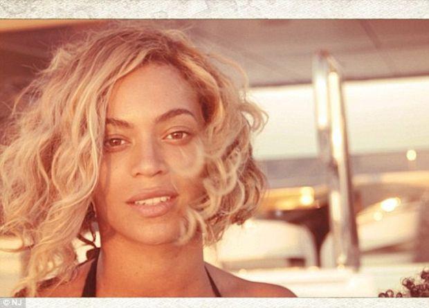 Beyonce tatilde !