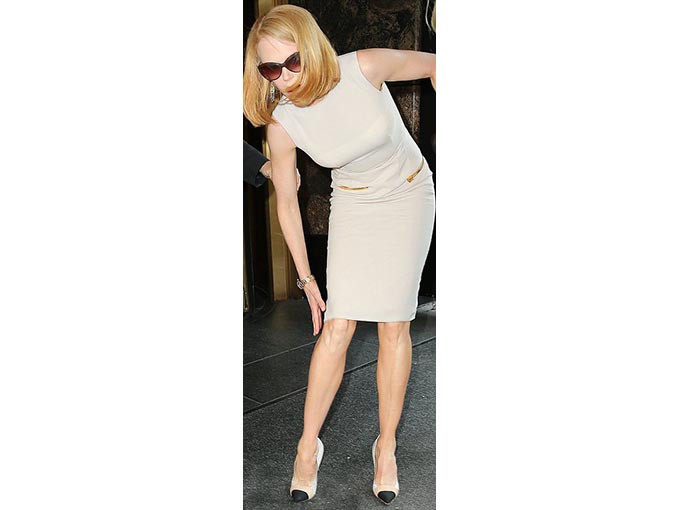 Nicole Kidman, yere kapaklandı!
