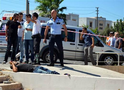 Bodrumda silahlı kavga 2 ölü 4 yaralı