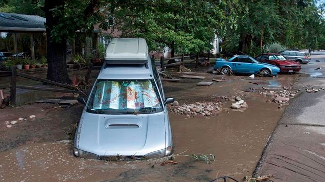 Colorado sele, Meksika fırtınaya teslim oldu