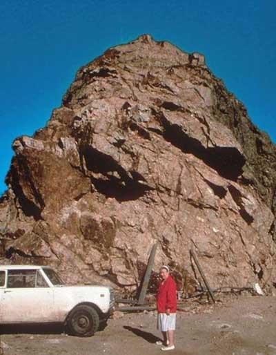Dağı böyle adım adım heykel yaptılar