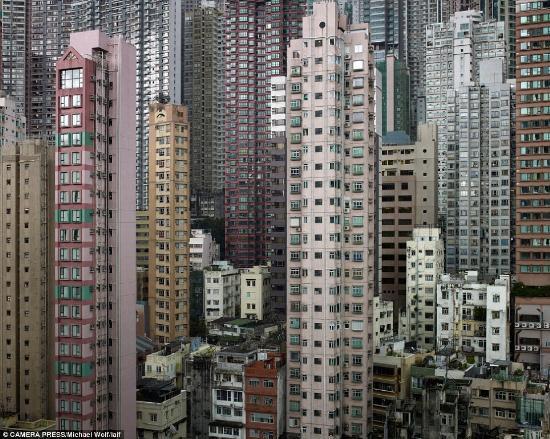 Hong Kongdan çok ilginç kareler