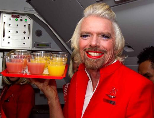 Richard Branson ve maceraları