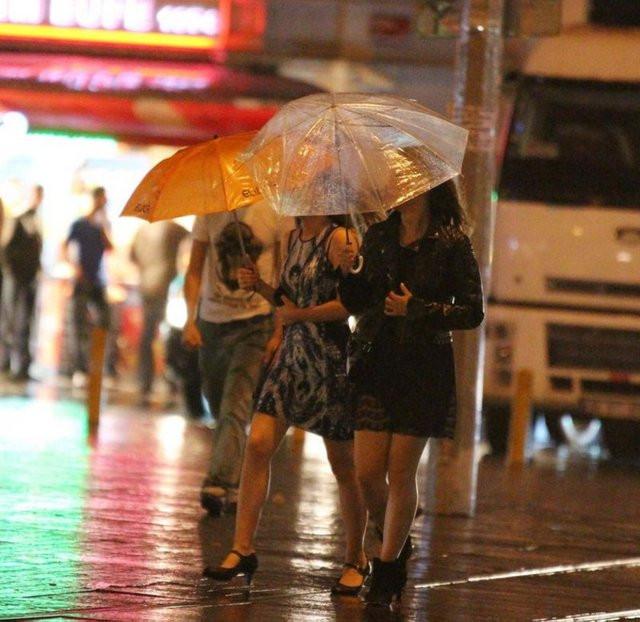 İstanbulda yağmur