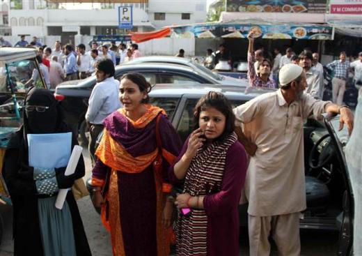 Pakistan 7.8le sarsıldı