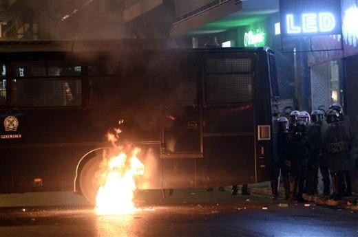 Protestolar çatışmaya dönüştü