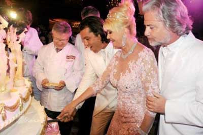 İvana Trumpın muhteşem düğünü