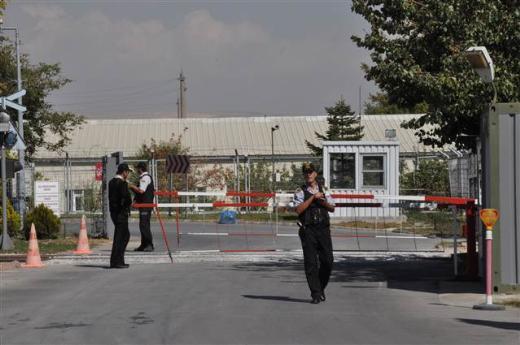 Ankarada roket fabrikasında patlama