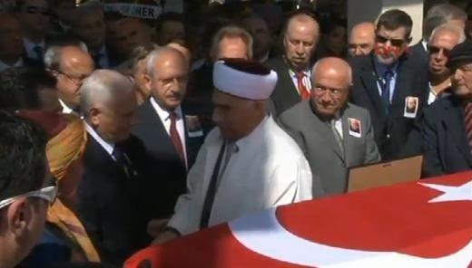 Turgut Özakman son yolculuğuna uğurlanyor