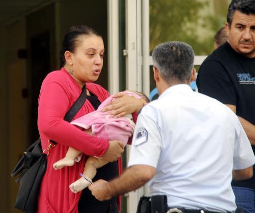 Bebeğinin öldüğüne inanamadı