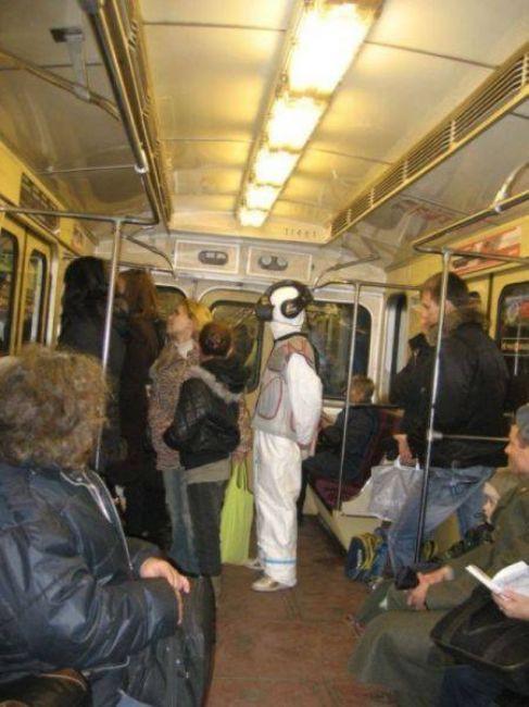 Toplu taşıma araçlarında ki moda !