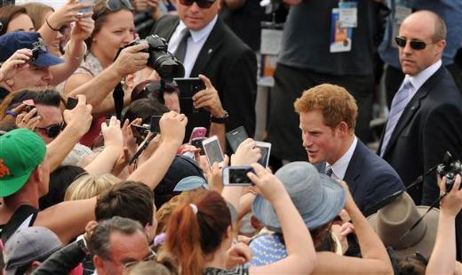Prens Harry Avustralyada