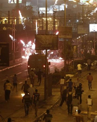 Mısırda kutlamalar çatışmaya dönüştü