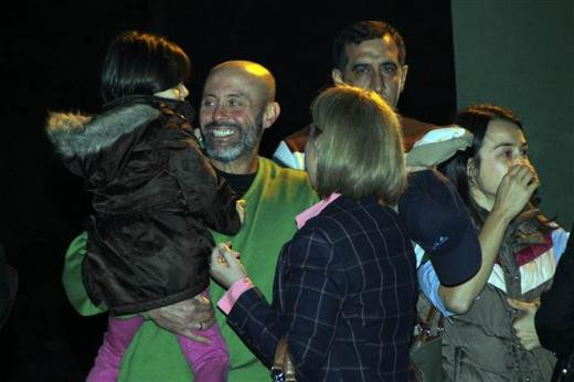 Hasdal'da tahliye sevinci