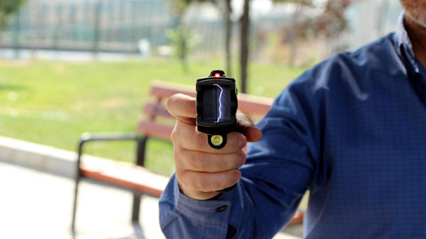 İstanbul polisine yeni silah