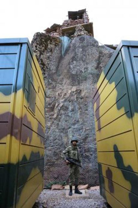 Yeşiltaş Karakolu yeni teknolojiyle donatıldı