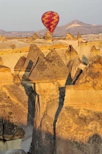 Kapadokyada balon turlarına büyük ilgi