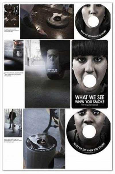 Sigarayı bıraktıracak reklamlar