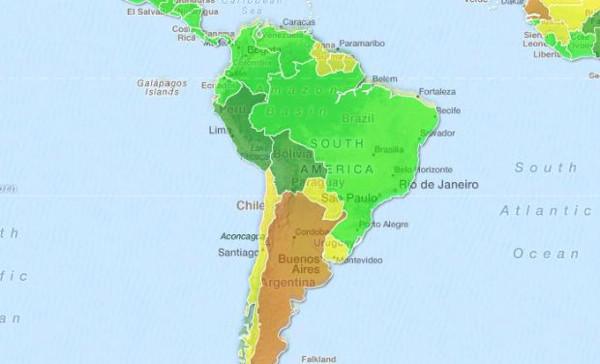 En kolay kız hangi ülkede haritası yaptılar!