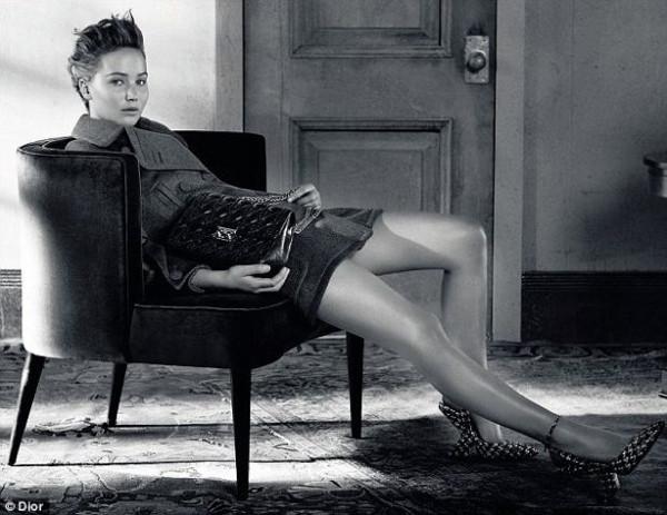 Dior Dergisinin yeni yüzü; Jennifer Lawrence