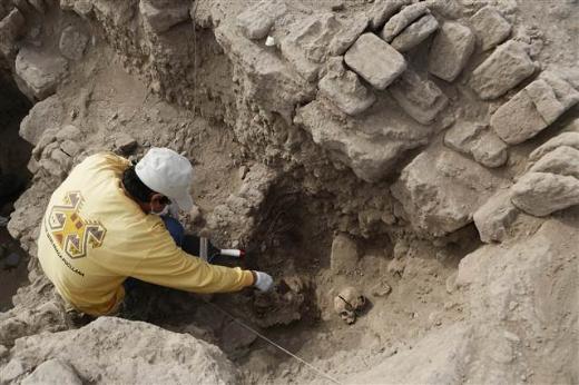 Peruda bin yıllık cesetler ortaya çıktı