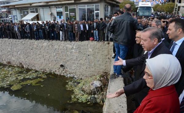 Erdoğandan çöp tepkisi