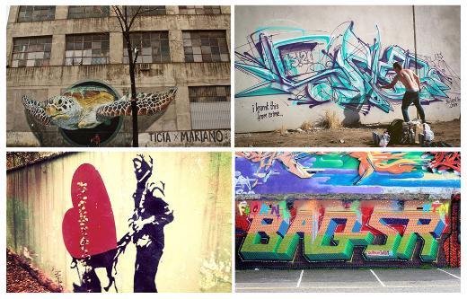 Guardian okuyucuları en iyi 15 graffitiyi belirledi