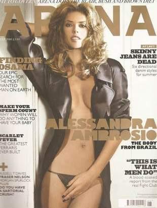 Alessandra Ambrosio Arena Magazinede