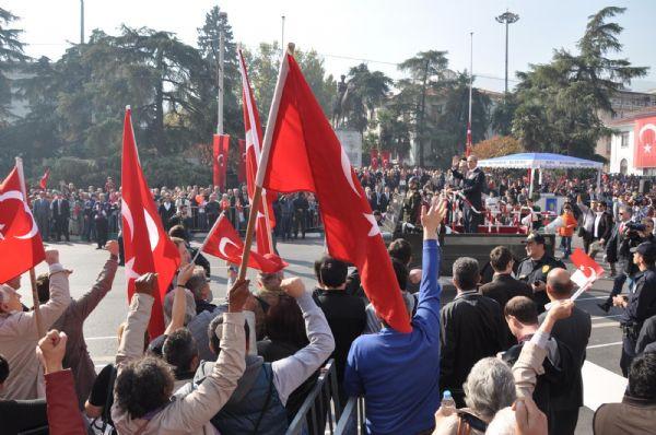 Bursada olaylı kutlama