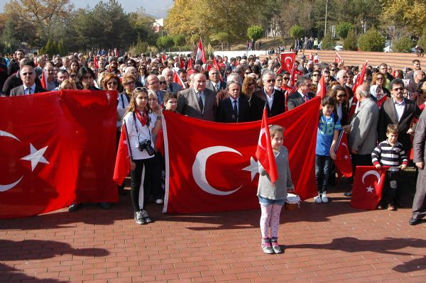 Tüm Türkiyede Cumhuriyet coşkusu