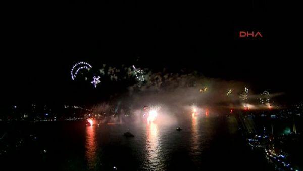 Cumhuriyet Bayramı için görkemli tören