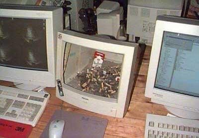 Hiç böyle bilgisayar gördünüz mü ?
