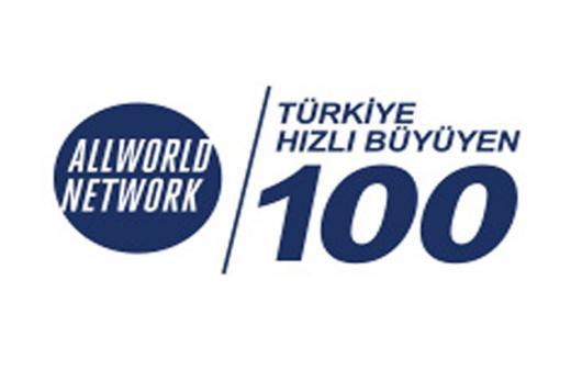 Türkiyenin en hızlı büyüyen 100 şirketi