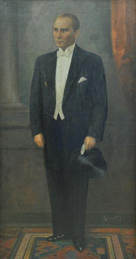 Cumhurbaşkanlarının yağlı boya tabloları Köşkte