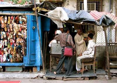 Hindistanın sokak berberleri