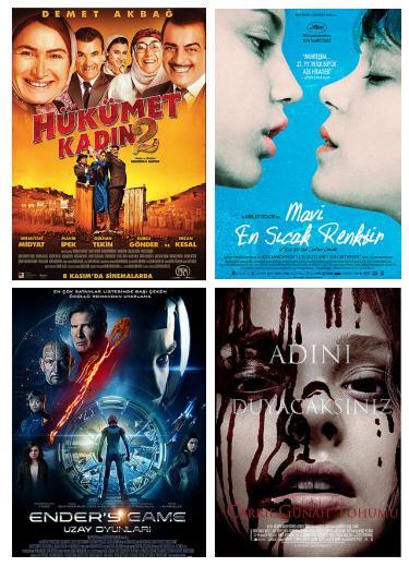 4 yeni film vizyonda