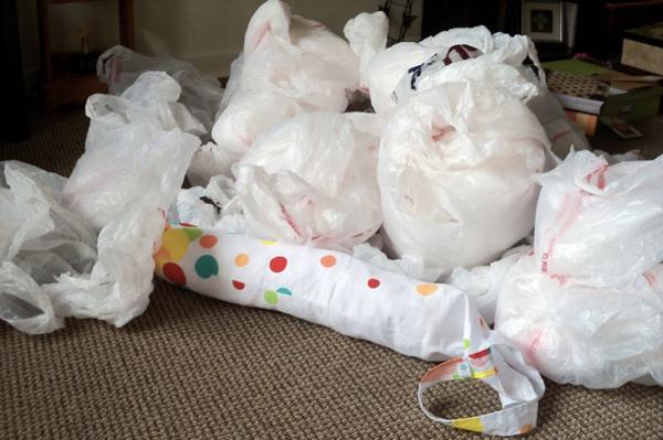 Plastik poşetin sıra dışı kullanımı