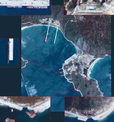 Çinin nükleer üssü Google Earthde