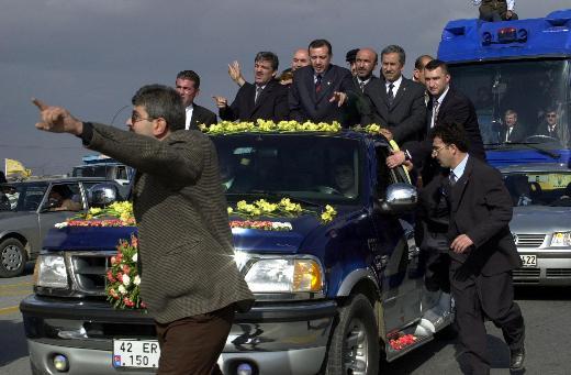 Erdoğan ve Arınçın birlikte yürüdüğü yıllar