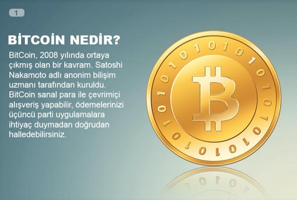 10 soruda sanal para BitCoin