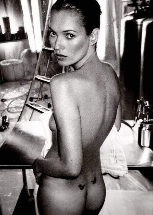 Kate Mosstan 40 yaş pozu